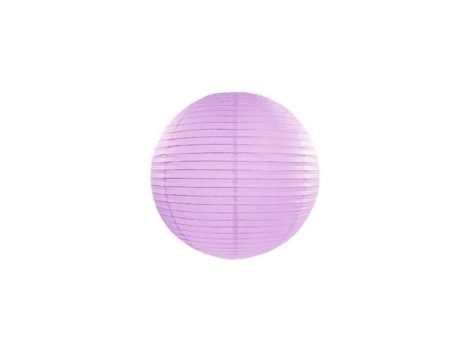 Papírlampion 20 cm - levendula lila