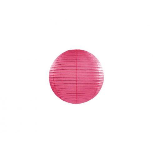 Papírlampion 20 cm - pink