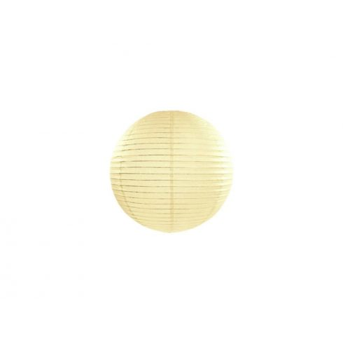 Papírlampion 20 cm - krém