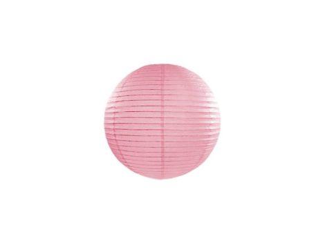 Papírlampion 20 cm - rózsaszín
