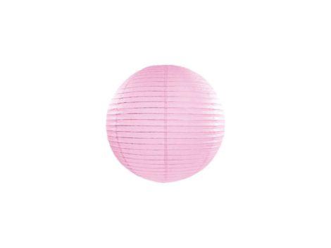 Papírlampion 20 cm - világos rózsaszín