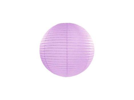 Papírlampion 25 cm - levendula lila