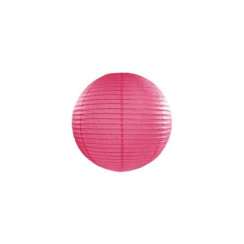 Papírlampion 25 cm - pink