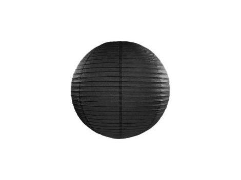 Papírlampion 25 cm -fekete