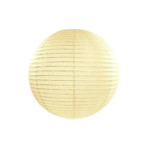 Papírlampion 25 cm - krém