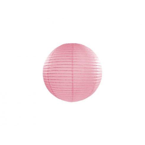 Papírlampion 25 cm - rózsaszín