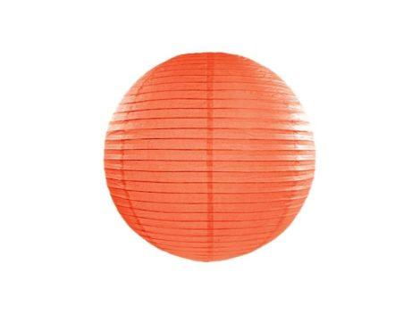 Papírlampion 35 cm -  narancs