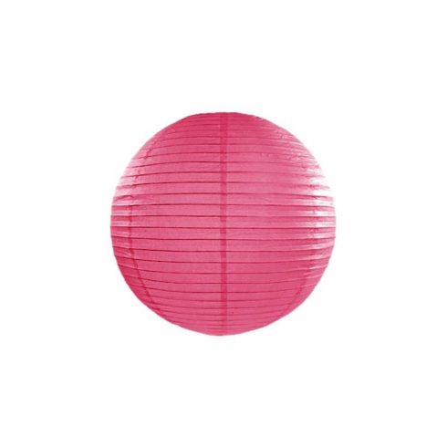 Papírlampion 35 cm - pink