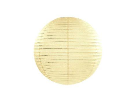 Papírlampion 35 cm - krém