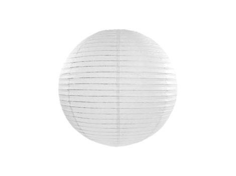 Papírlampion 35 cm - fehér