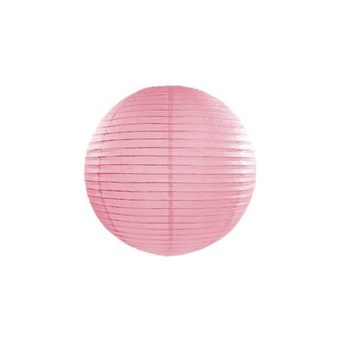 Papírlampion 35 cm - rózsaszín