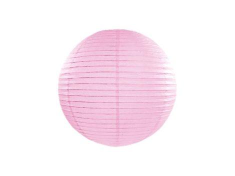 Papírlampion 35 cm - világos rózsaszín