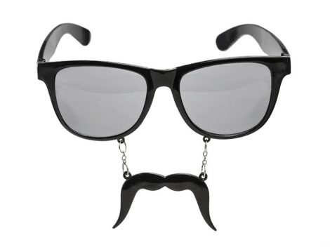 Szemüveg bajusszal - fotókellék