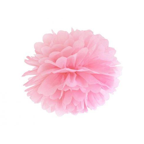 Pompom 25 cm rózsaszín