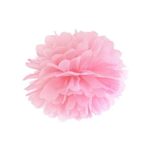 Pompom 35 cm rózsaszín