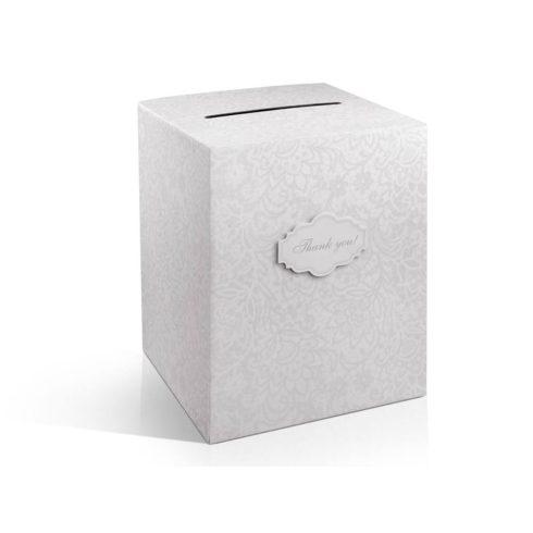 Mintás nászajándék / jókívánság gyűjtő doboz