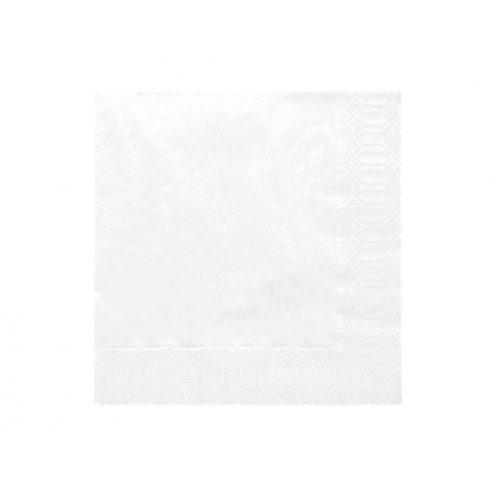 Szalvéta - fehér (20 db-os csomag) BESZERZÉS ALATT