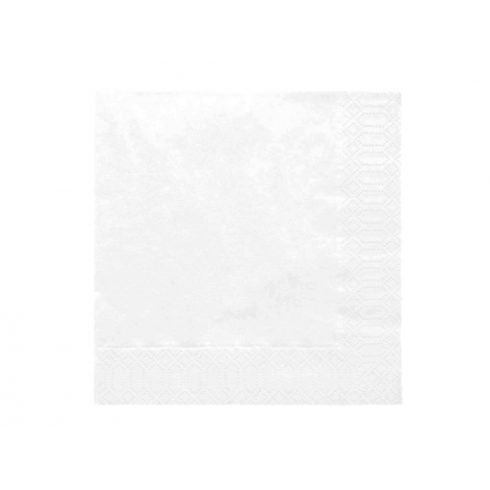 Szalvéta - fehér (20 db-os csomag)