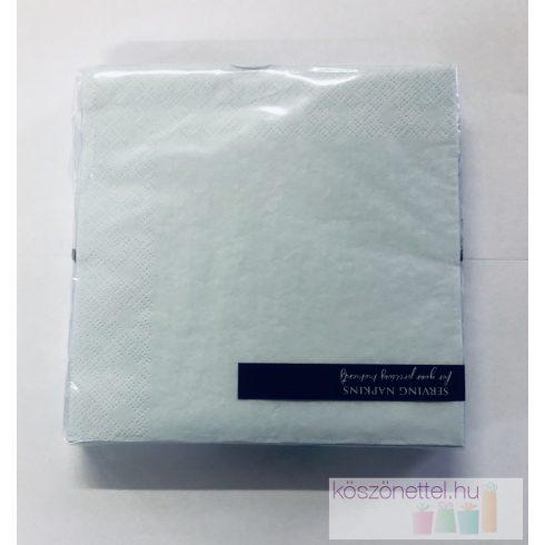 Szalvéta - halvány-világos égkék (20 db-os csomag)