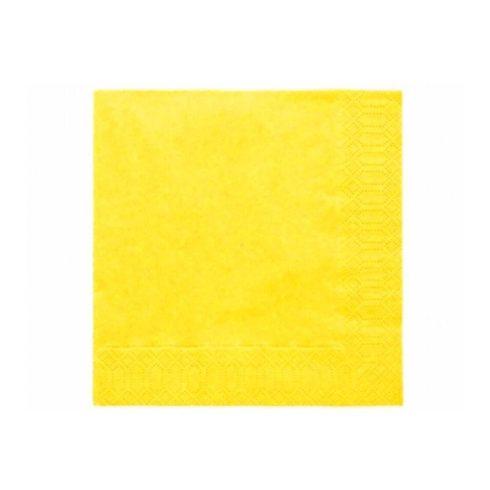 Szalvéta -sárga (20 db-os csomag)