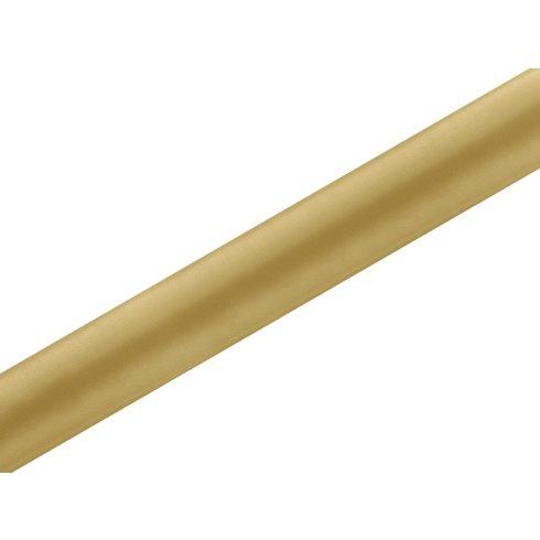 Szatén futó arany - 36 cm * 9 m
