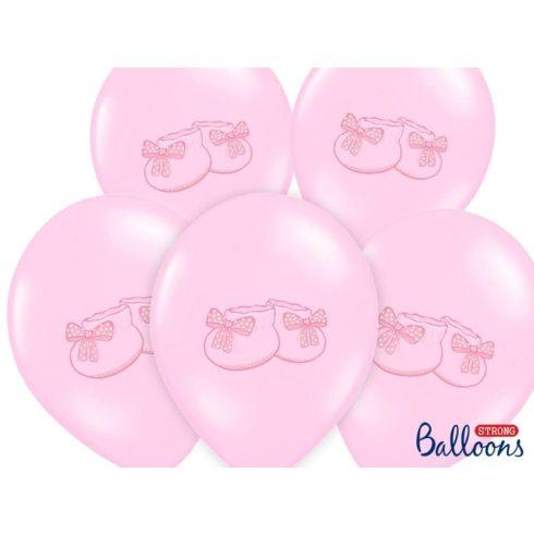 Kiscipős lufi - rózsaszín