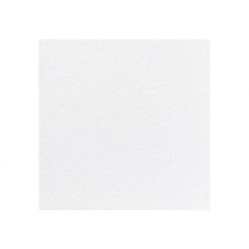 Fehér színű, textil hatású szalvéta 40*40 cm (12 db-os csomag)