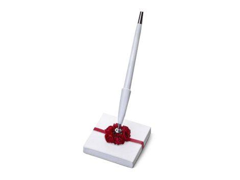 Vörös rózsa - tollkészlet