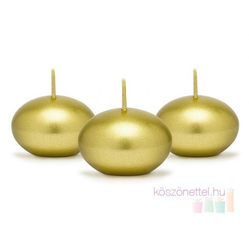 Úszómécses - metál arany