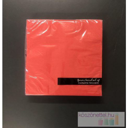 Szalvéta - málnapiros  (20 db-os csomag)
