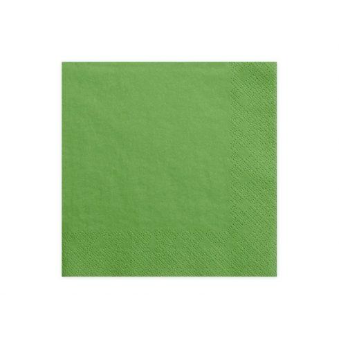 Szalvéta - zöld  (20 db-os csomag)