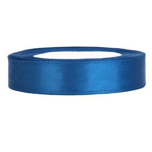 Szatén szalag 12 mm kék
