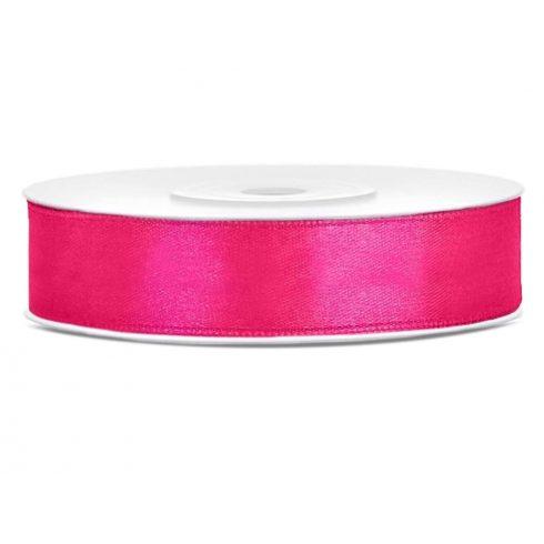 Szatén szalag 12 mm pink