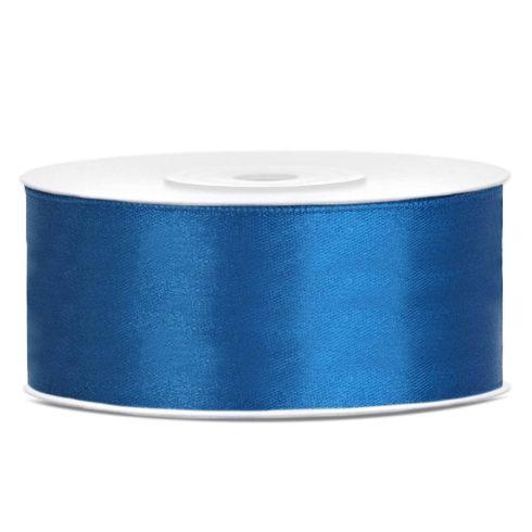 Szatén szalag 25 mm - kék