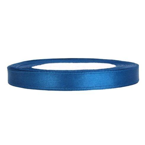 Szatén szalag 6 mm kék