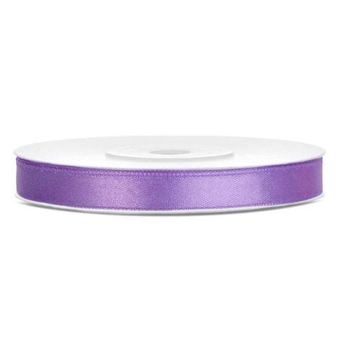 Szatén szalag 6 mm lila