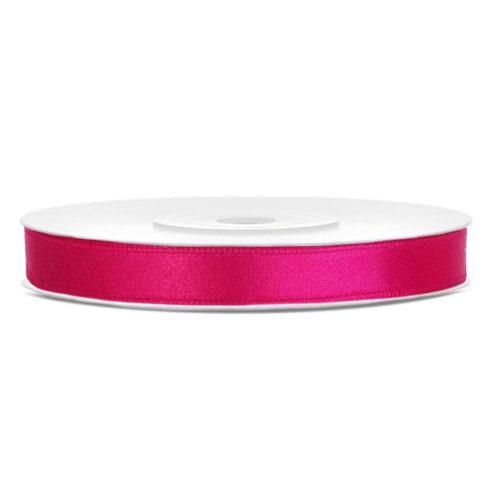 Szatén szalag 6 mm pink