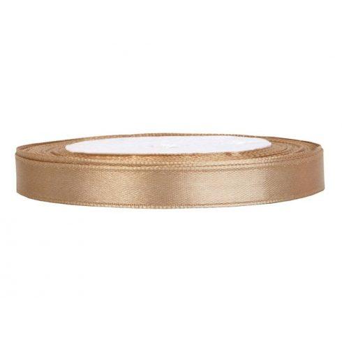 Szatén szalag 6 mm arany