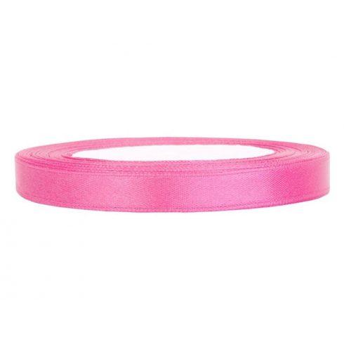 Szatén szalag 6 mm rózsaszín
