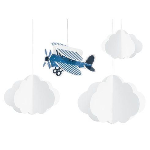 Repülős függő dekoráció