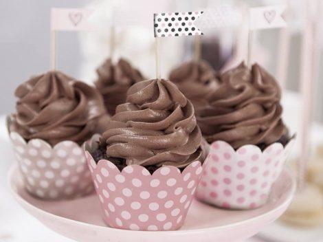 """""""Sweets"""" cupcake süti zászlócskák (6 db-os csomag)"""