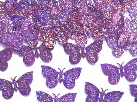 Pillangó konfetti - pink