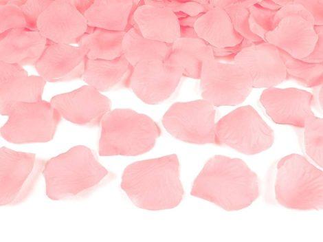 Mű rózsaszirom - világos rózsaszín