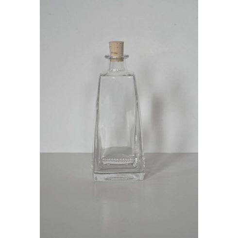 Szögletes palack 350 ml.