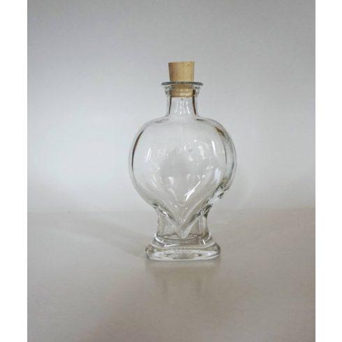 Szív üveg (200 ml)