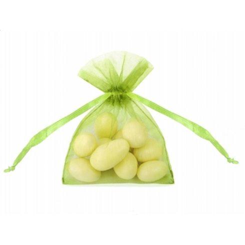 Organza zsák kicsi - almazöld