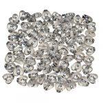 Hegyikristály köves szívek - konfetti