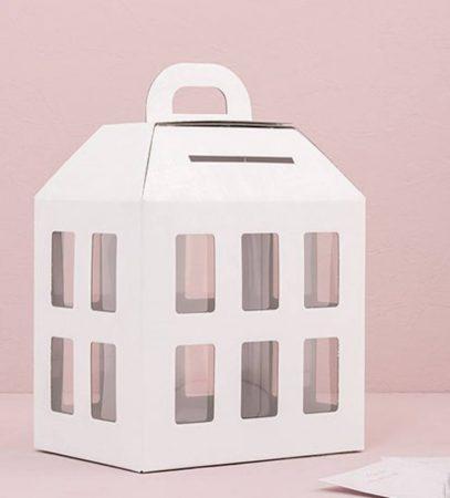 Gyöngyház lámpás pénzgyűjtő / jókívánság doboz