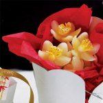 Mini orchidea - mécses (utolsó 63 db)