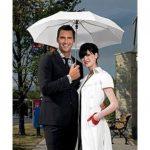 Esküvői esernyő (fekete, utolsó darab)